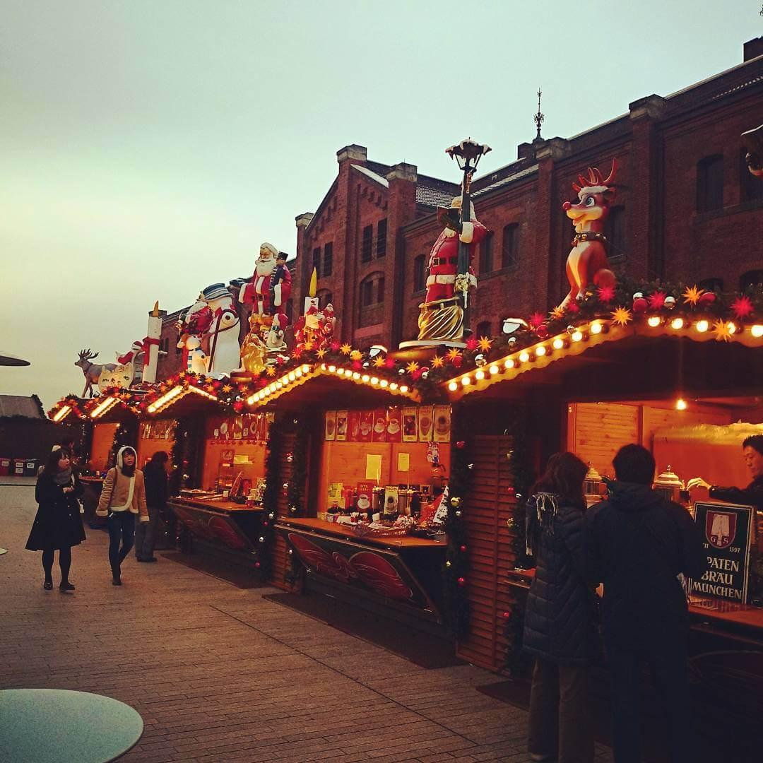 横浜赤レンガクリスマスマーケット2015 ヒュッテ