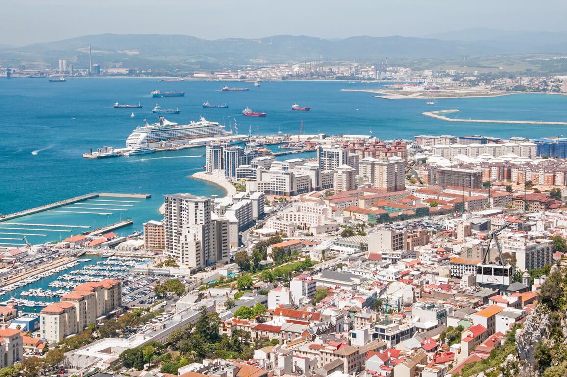 ジブラルタル市街地