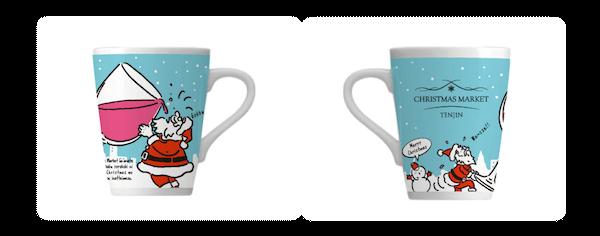 福岡クリスマスマーケット マグカップ 天神