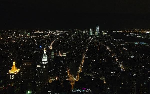 エンパイア ステートビルディング夜景