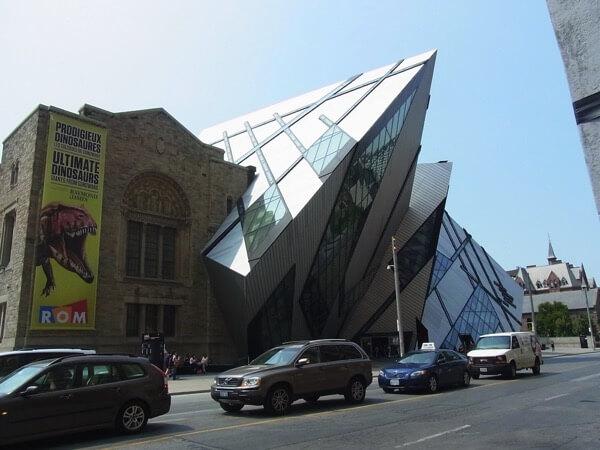 ロイヤル オンタリオ博物館外観
