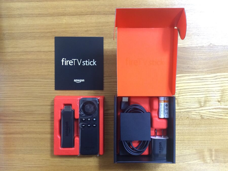 Fire TV Stick箱中身