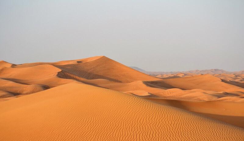 ドバイ砂漠