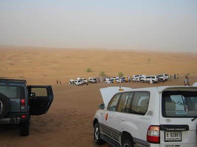 ドバイ砂漠04