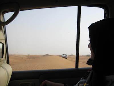 ドバイ砂漠06
