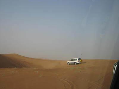 ドバイ砂漠01