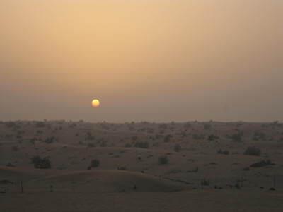 ドバイ砂漠02