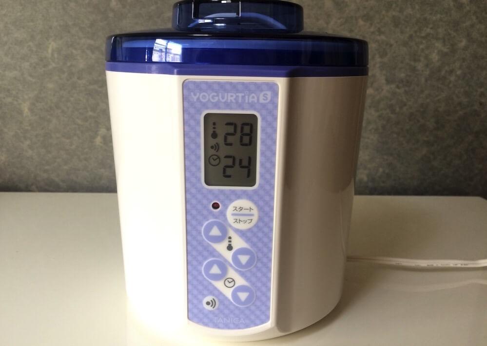 温度とタイマーをセット