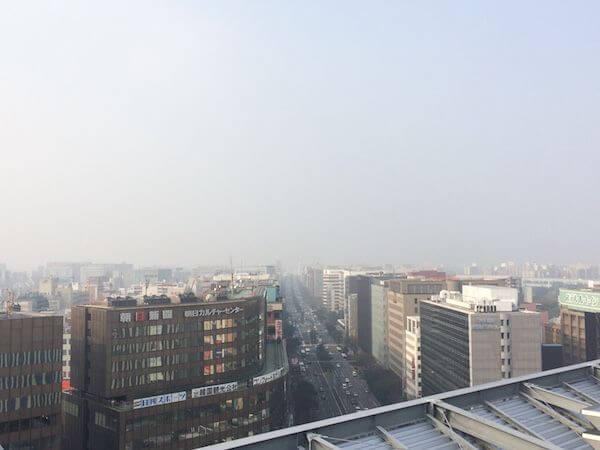 博多駅展望テラス 景色