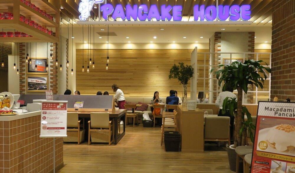 オリジナルパンケーキハウス