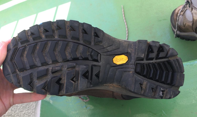 靴底の汚れ