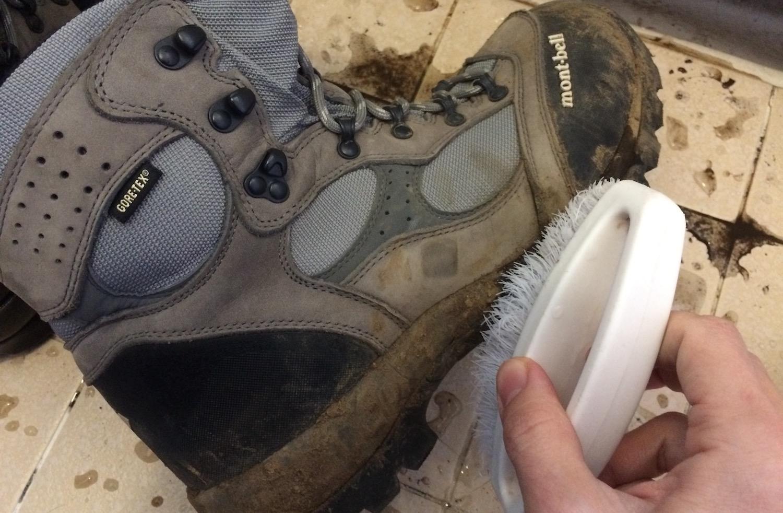 アッパー部分の汚れ