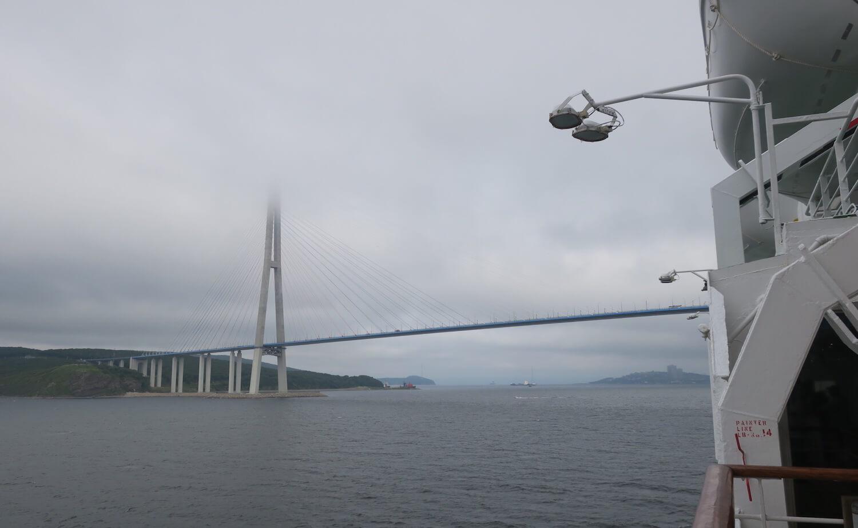 ウラジオストック入港1
