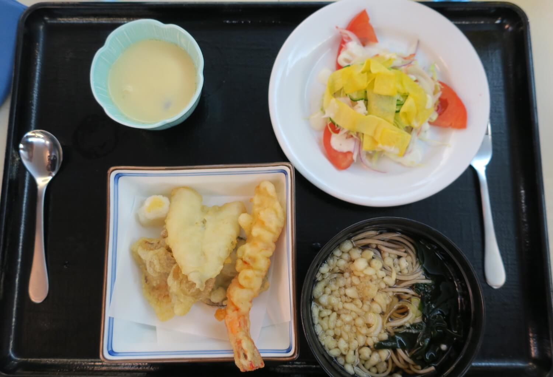 お蕎麦と天ぷら 赤飯 子供メニュー