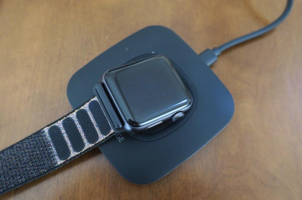 アップルウォッチは充電できない