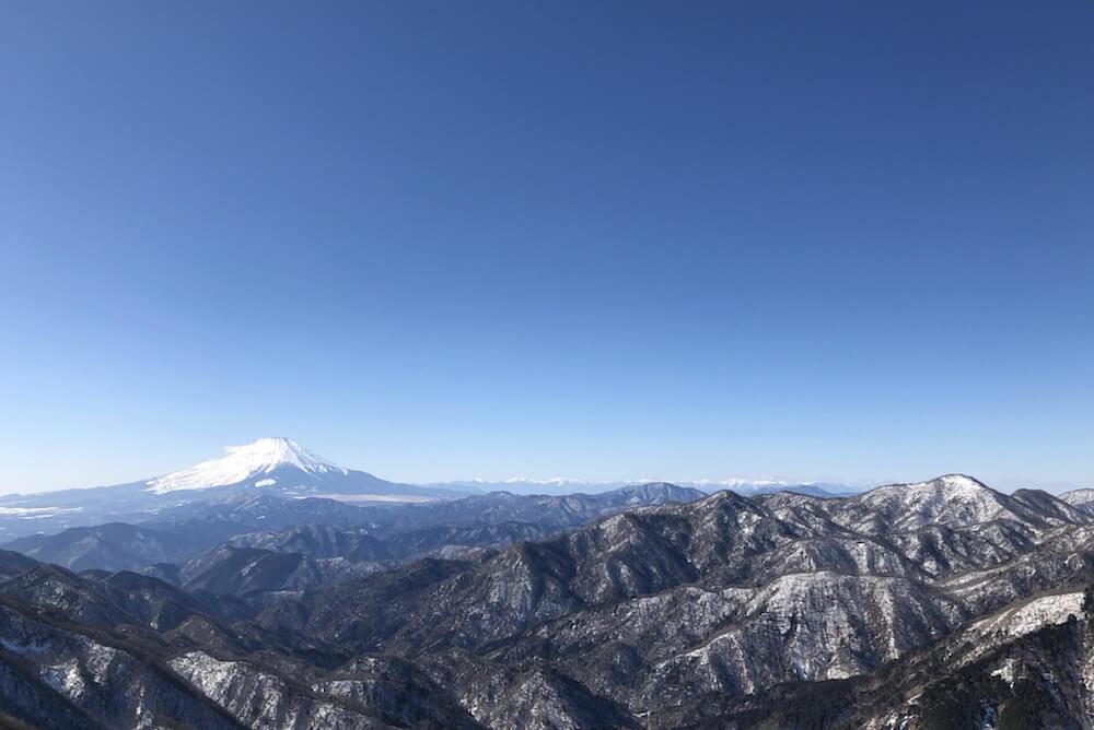 塔ノ岳山頂4