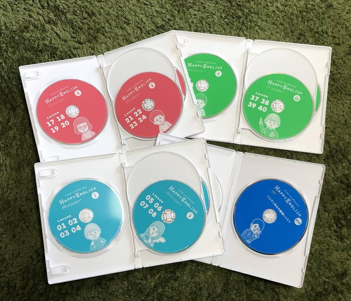 ハッピーイングリッシュCD DVD