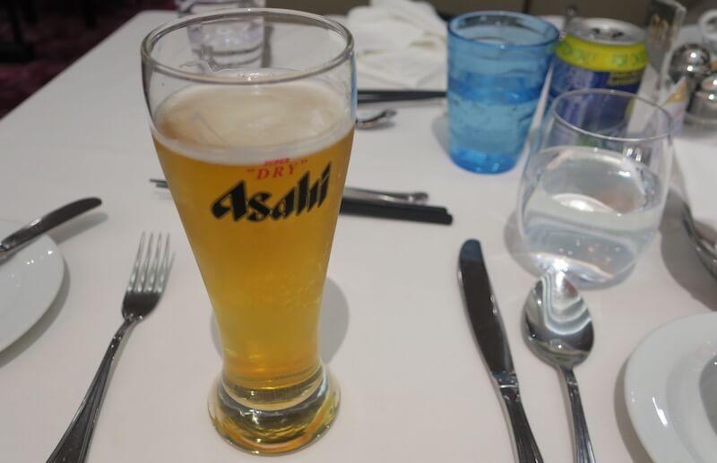 コスタネオロマンチカ レストラン ボッティチェリ 夕食 飲み物