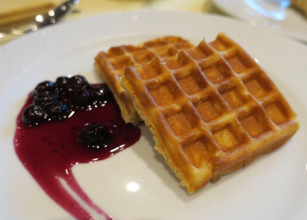 MSCスプレンディダ メインレストラン 朝食9
