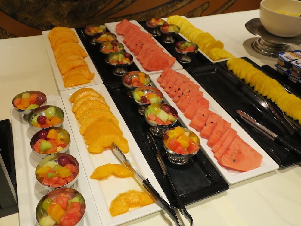 MSCスプレンディダ メインレストラン 朝食6