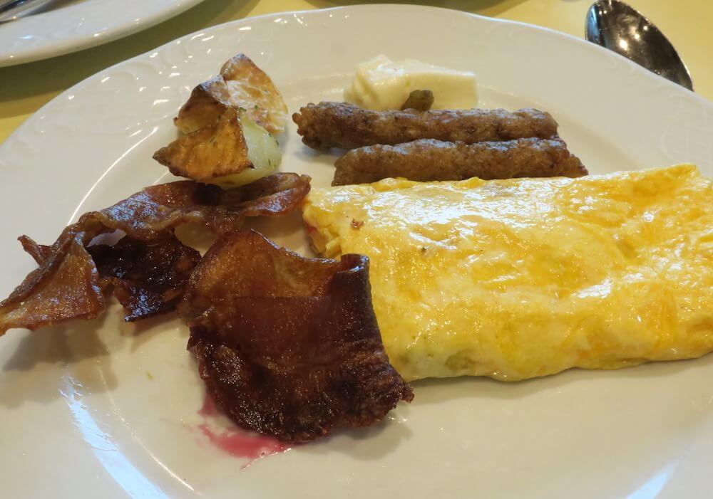 MSCスプレンディダ メインレストラン 朝食8