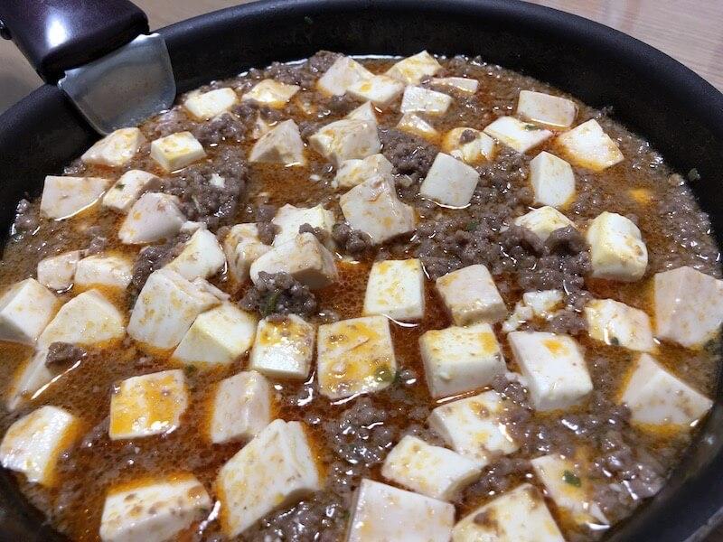 ヘルシオ 麻婆豆腐02