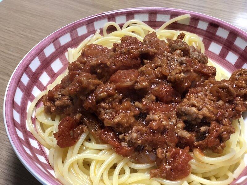 ヘルシオ トマトスパゲティ02