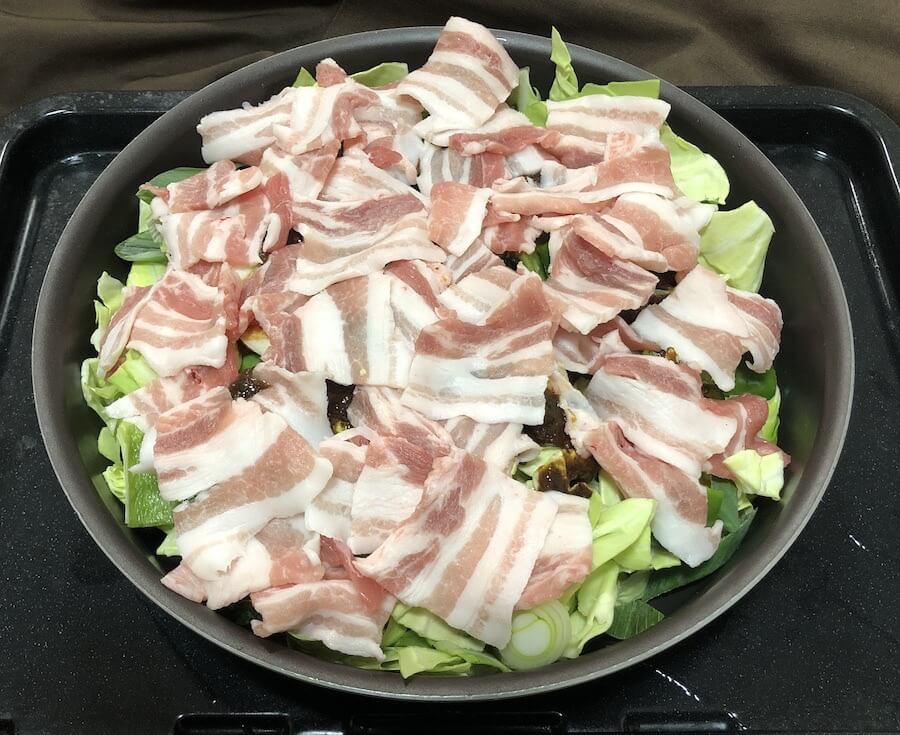 ヘルシオ 回鍋肉01