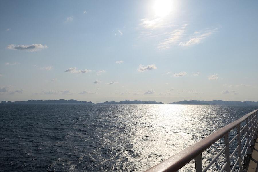 小笠原 沖の景色