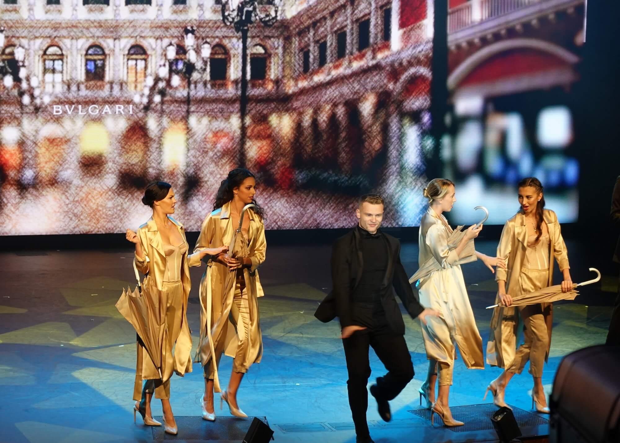コスタベネチア ファッションショー