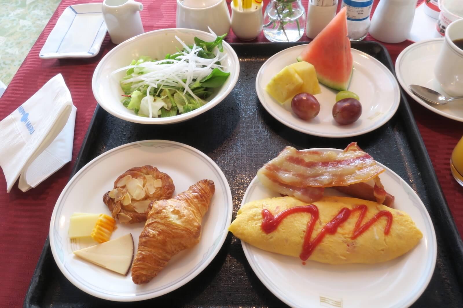 にっぽん丸 朝食 瑞穂07