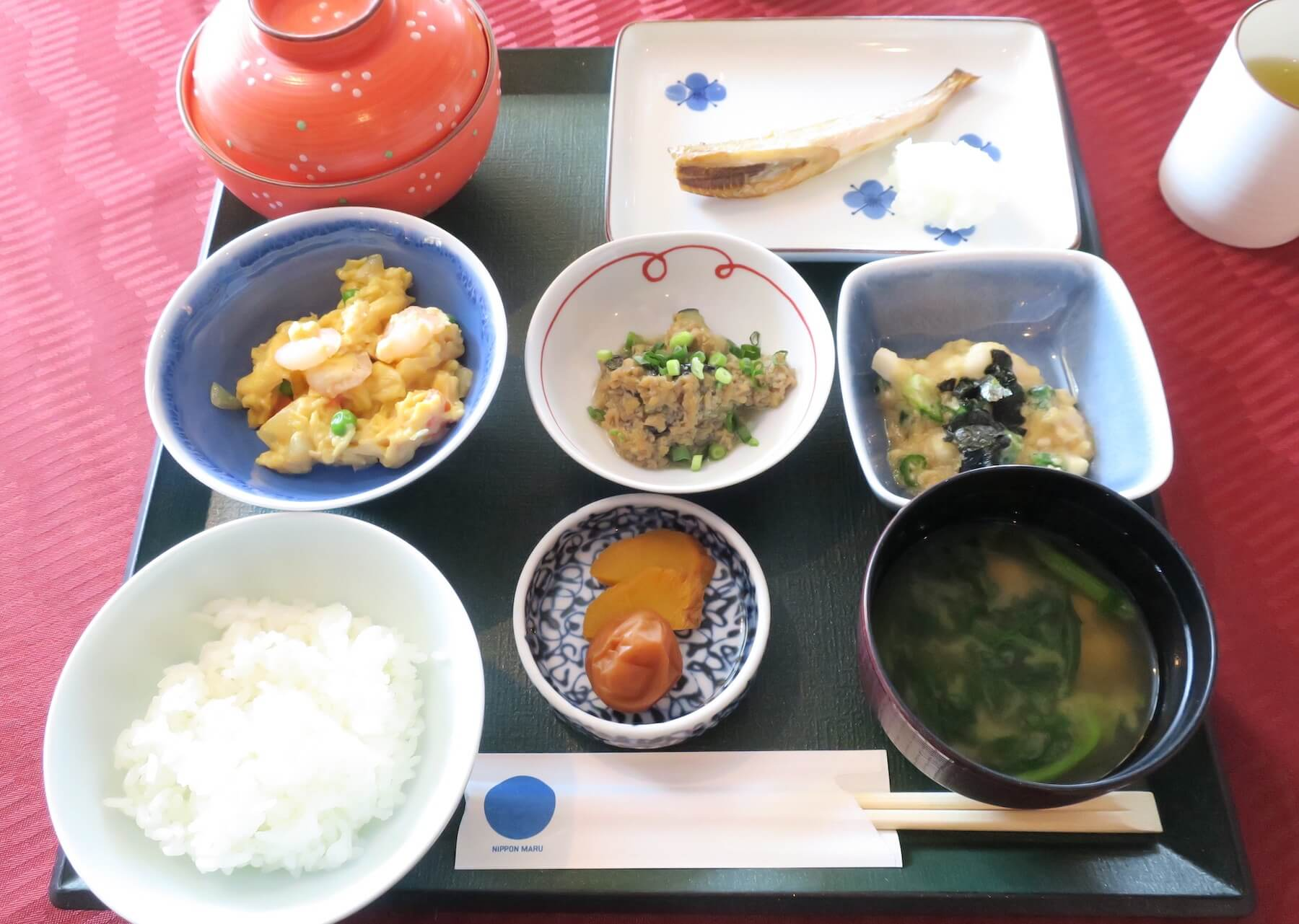 にっぽん丸 朝食 瑞穂 和食