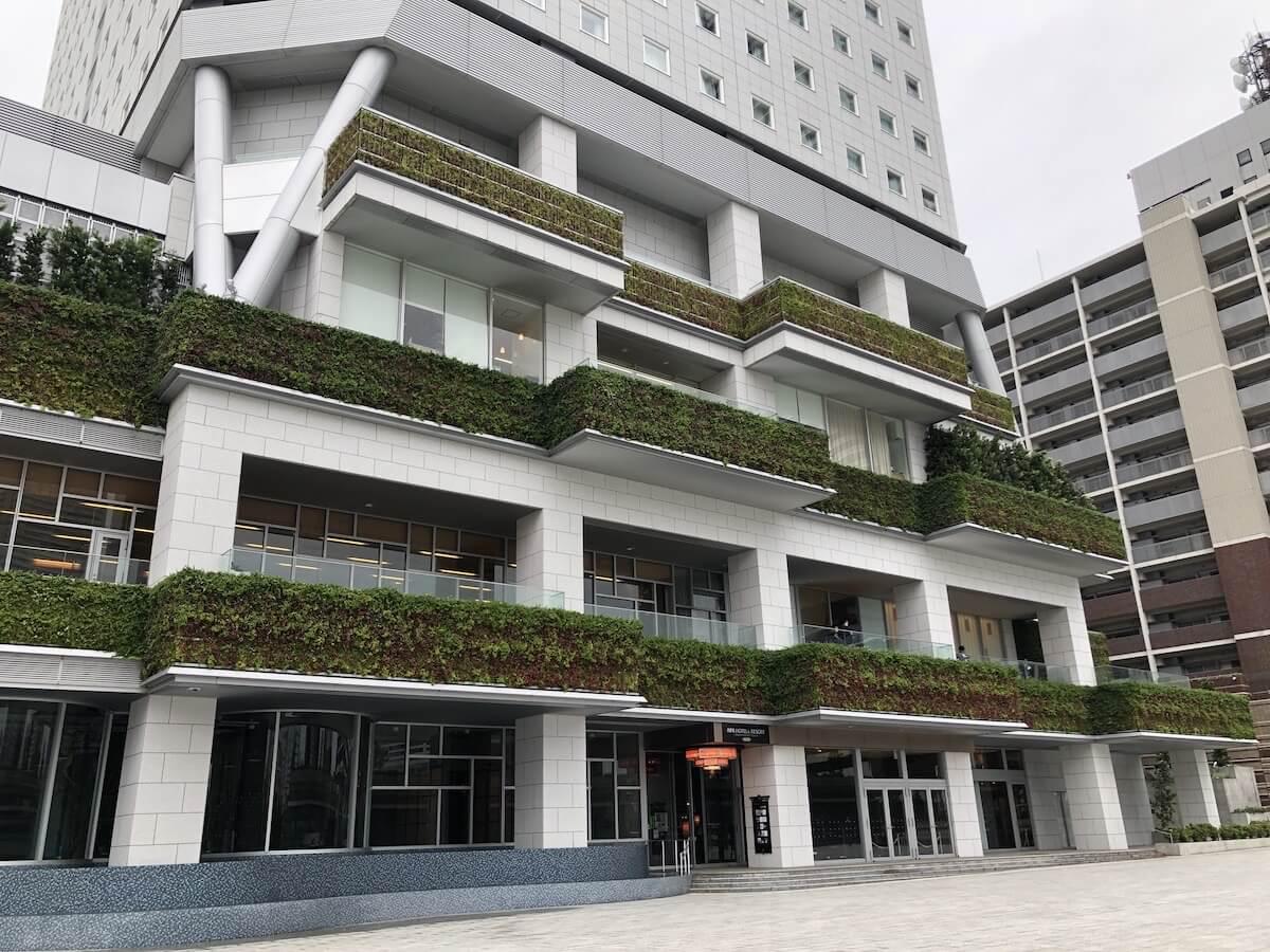 アパホテル リゾート 横浜ベイタワー 入り口01