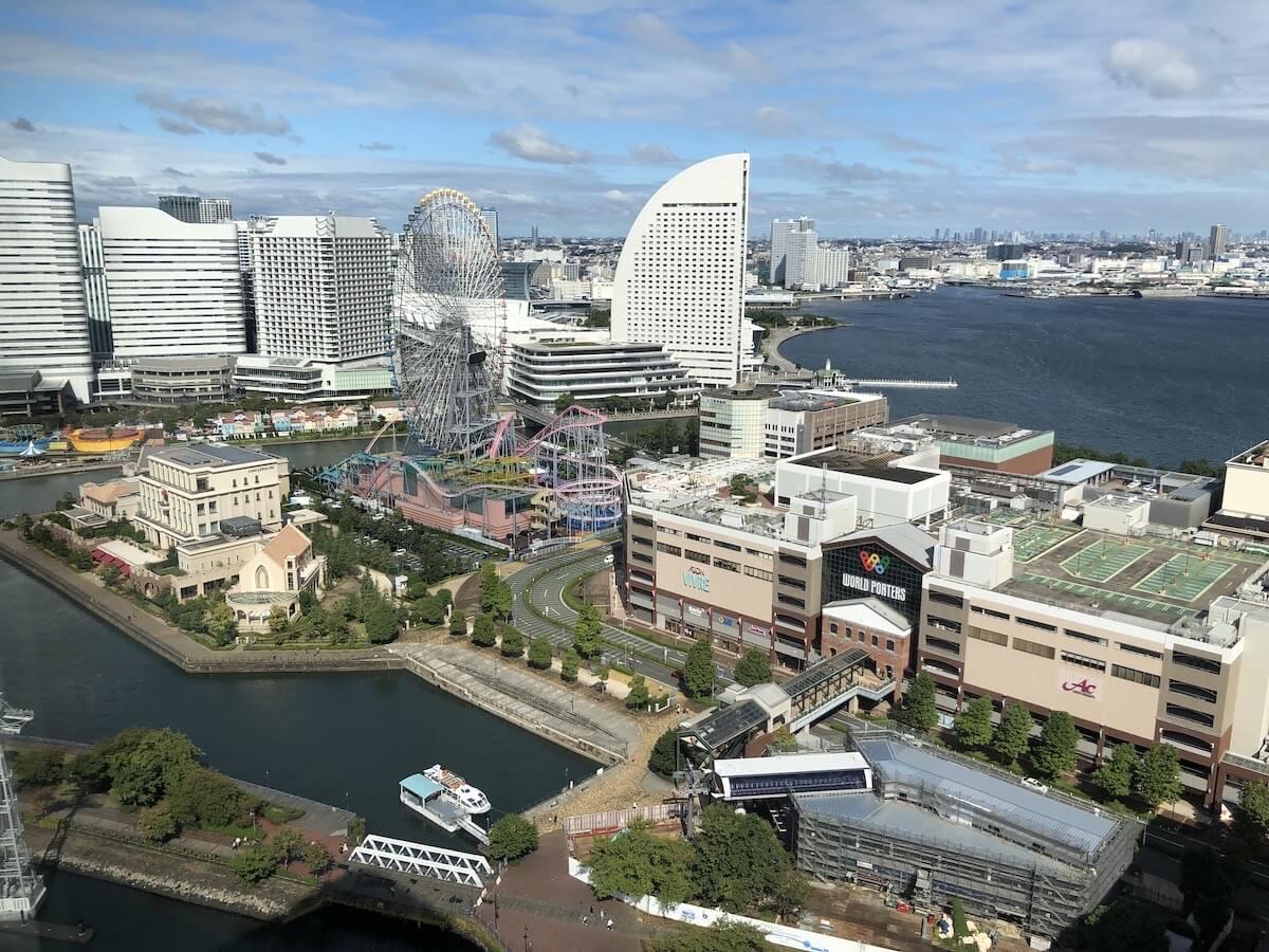 アパホテル リゾート 横浜ベイタワー 客室展望02