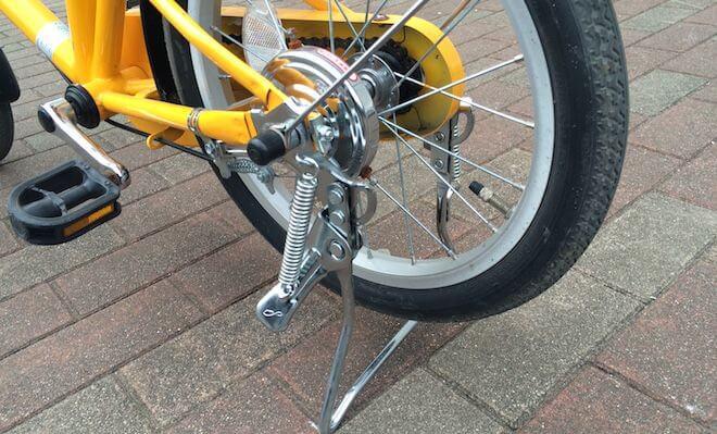 無印子供用自転車スタンド