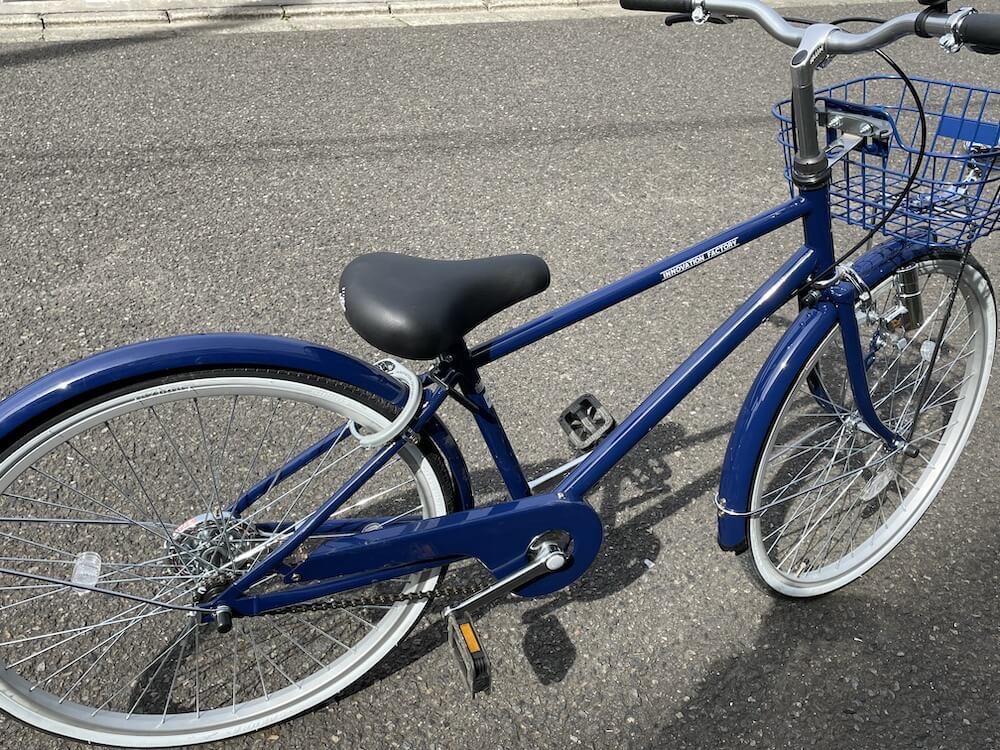 あさひの自転車 イノベーションファクトリー 購入しました2